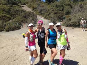 These girls made this Los Pinos journey incredible and because of all the training runs, we were able to spend time together, motivating and encouraging each other.  By far, this was the best experience of the event.  From left to right: Andrea, me, Deysi and Naomi.